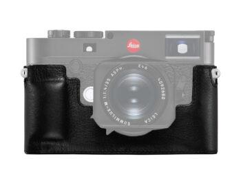 Leica Fondello protettivo in pelle per M10, nero