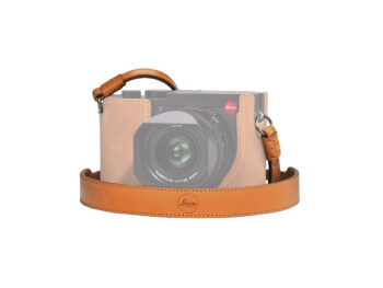 Leica Cinghia a tracolla, in pelle, brown