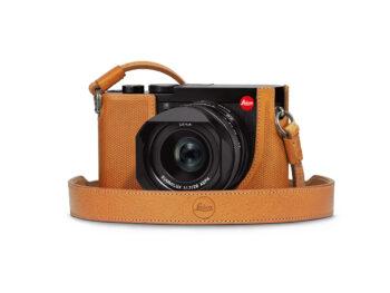 Leica Fondina Q2, in pelle, brown