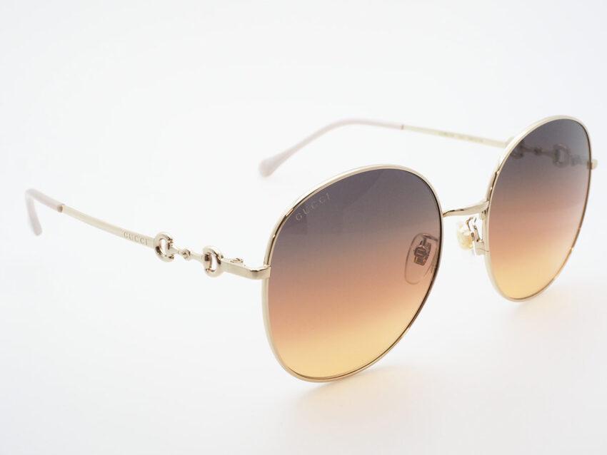 Gucci sole GG0881SA GOLD BROWN